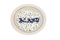 Bland Food Stock Image