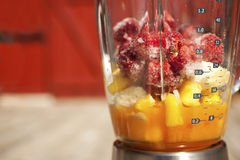 blanda smoothie Arkivbild