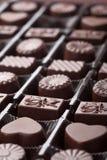 blandad askchoklad Royaltyfri Fotografi