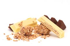 Blandad choklad Royaltyfri Bild