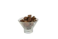 blandad choklad Arkivfoto