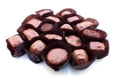 blandad choklad mjölkar Royaltyfri Foto