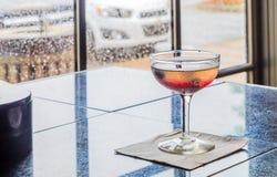 Blandad drink i naturligt ljus Royaltyfri Foto
