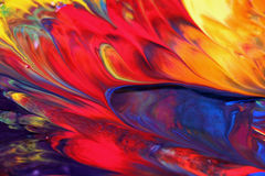 Blandad färg Fotografering för Bildbyråer