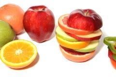 blandad frukt royaltyfri fotografi
