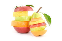 blandad frukt arkivfoto