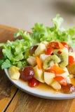 Blandad frukt för kryddig sallad Royaltyfri Bild