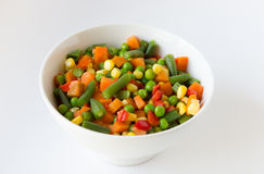 Blandad grönsaksallad Royaltyfria Foton