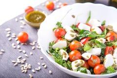Blandad grönsaksallad Arkivfoto
