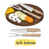 Blandad läcker grillad grönsak Arkivbild