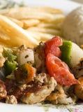 blandad nicaragua för kabob skaldjur fotografering för bildbyråer