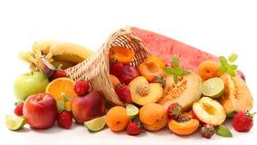 blandad ny frukt royaltyfri bild