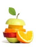blandad ny frukt Arkivfoton