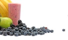 Blandad ny frukt Juice Smoothie Fotografering för Bildbyråer