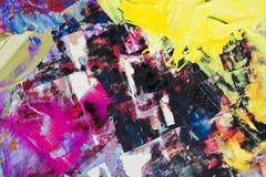 blandad olja för färger arkivbilder