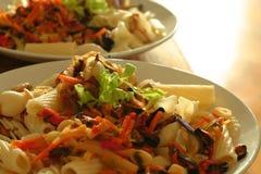 blandad pasta Arkivbilder