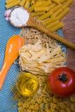 Blandad pasta Royaltyfria Bilder