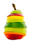 blandad pear för frukt Royaltyfri Foto