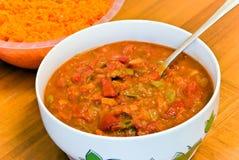 blandad peppar grillad tomatgrönsak Arkivbild