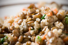 blandad ricegrönsak Royaltyfri Foto