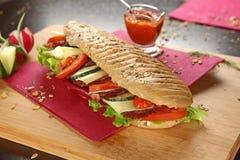Blandad smörgås Arkivbilder