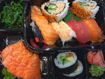 Blandad sushi Royaltyfri Foto
