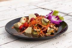 Blandad thai stil 01 för fruktsallad Fotografering för Bildbyråer
