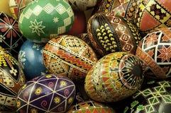blandade ägg arkivbilder