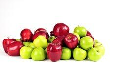 blandade äpplen Fotografering för Bildbyråer