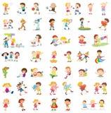 Blandade barn Royaltyfria Bilder