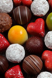 blandade choklader Royaltyfri Fotografi