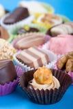 blandade confections royaltyfri fotografi