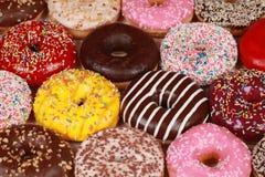 blandade donuts Royaltyfria Foton