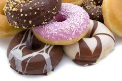 blandade donuts Arkivfoton