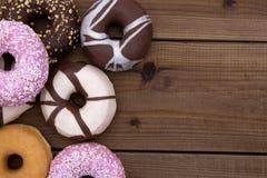 blandade donuts Royaltyfri Bild