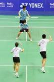 blandade doubles 2011 för asia badmintonmästerskap Royaltyfri Foto