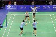 blandade doubles 2011 för asia badmintonmästerskap royaltyfria foton