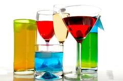 blandade drinkar Royaltyfri Foto