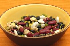 blandade färgglada legumes Royaltyfri Bild
