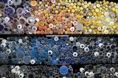 Blandade färgrika knappar 003 Royaltyfria Foton