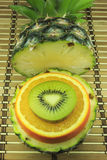 Blandade frukter Arkivbild