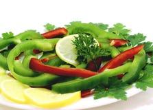 Blandade frukter och grönsaker Fotografering för Bildbyråer