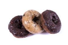 Blandade glasade och glaserade donuts Royaltyfri Fotografi