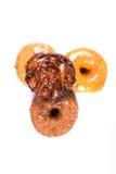 Blandade glasade och glaserade donuts Royaltyfri Bild
