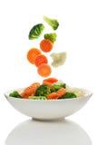 Blandade grönsaker Fotografering för Bildbyråer
