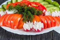 Blandade grönsaker Arkivbild