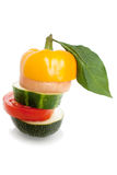 blandade grönsaker Royaltyfri Foto
