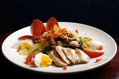 blandade grönsaker för meat Fotografering för Bildbyråer