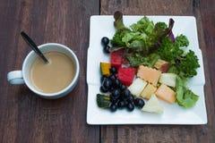 Blandade grönsaker/sallad Arkivfoton