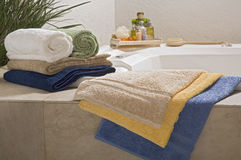 blandade handdukar Royaltyfri Fotografi